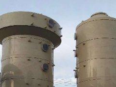 河北某公司订购吸收塔