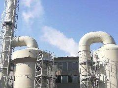 山东某化工厂PP废气吸收塔